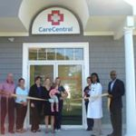 Care Central ribbon cutting
